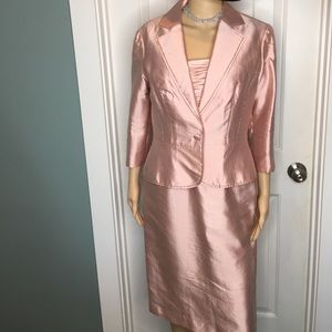 Adrianna Papell Occasions Silk Suit